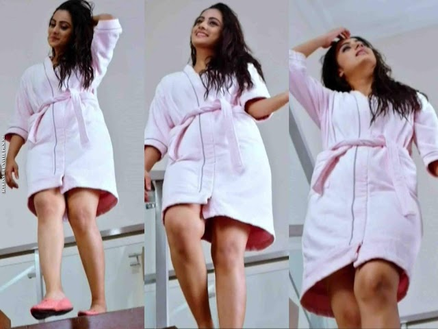 Namitha Pramod Hot Thighs Show Photos In Telugu Movie