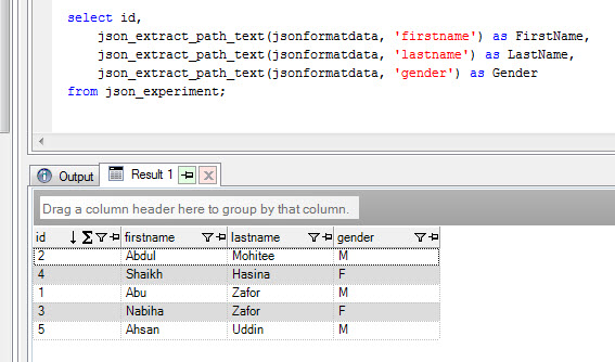 Tips & Tricks: Redshift: Store and Querying JSON object in
