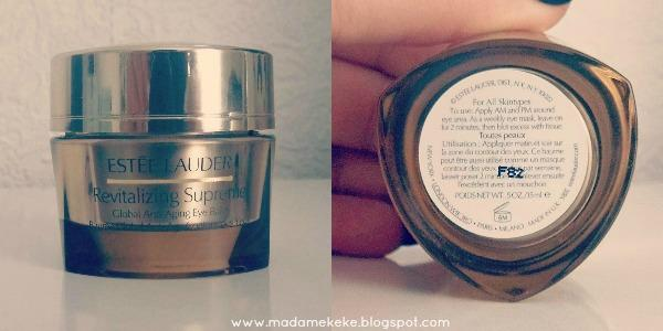 Revitalizing Supreme Anti-Aging Eye Balm Verpackung