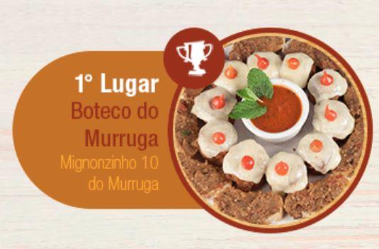 """Vencedor concurso """"Comida de Buteco 2016"""" (São Paulo)"""