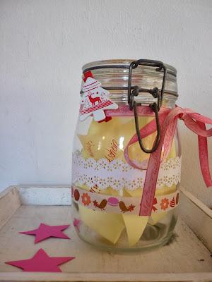 Geschenkidee Weckglas mit Gutscheinen