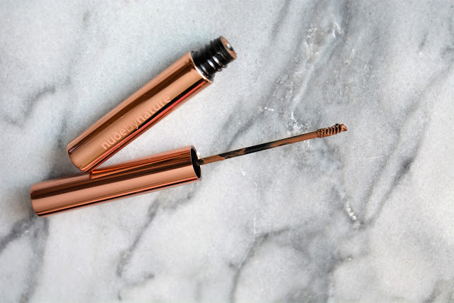 Nude By Nature | Precision Brow Mascara | Brown