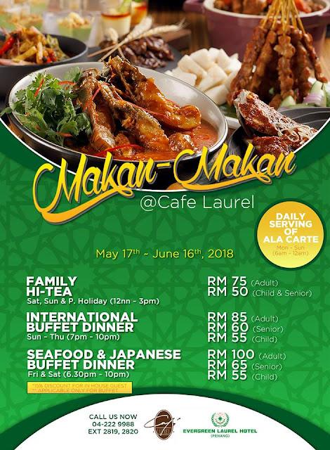 Penang's Hotel Ramadan Buffet 2018