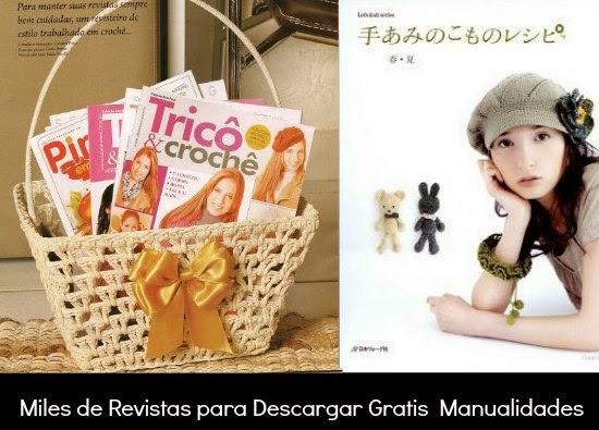 Miles de Revistas para Descargar Gratis  Manualidades