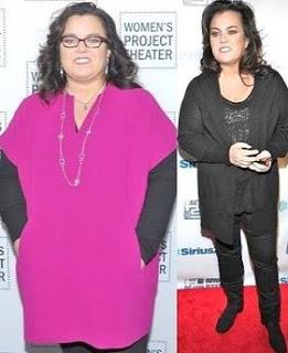 Rosie O Donnell perdio 50 Libras de Peso