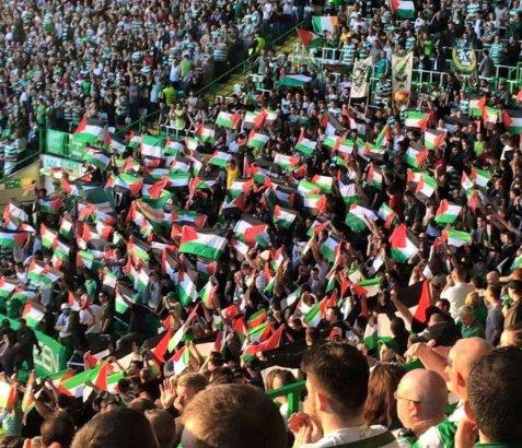 Celtic Fans Trotzen Flaggenverbot