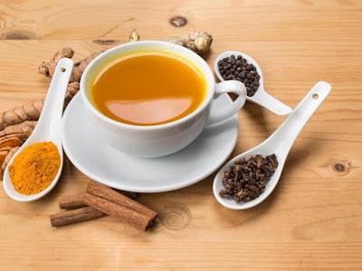 "TURMERIC TEA ""THE GOLDEN REMEDY"""
