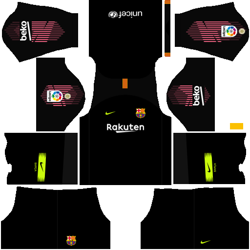 Kit de barcelona para dream league soccer 2019