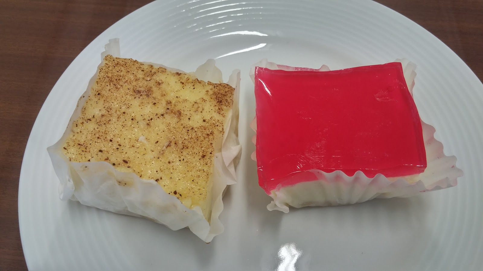 No Bake Easy Cheesecake with Jelly Topping