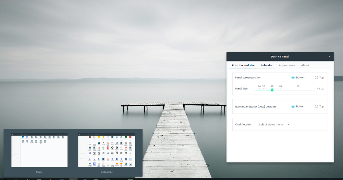 `Dash To Panel` Is A Cool Icon Taskbar For GNOME Shell ...