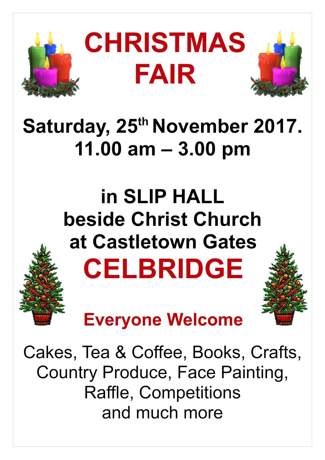 Parish of Celbridge & Straffan with Newcastle-Lyons: 2017