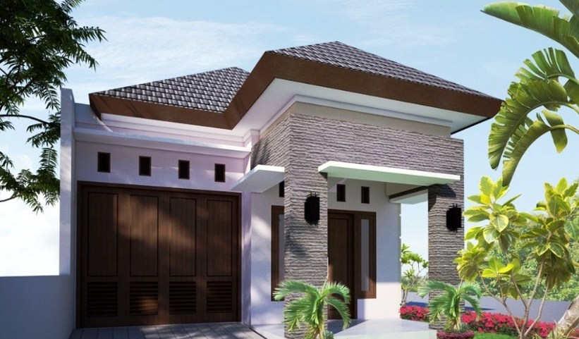 Desain Rumah Minimalis Sederhana 1 Lantai Modern