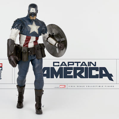 Marvel x ThreeA Captain America 1/6 Scale Collectible Figure by Ashley Wood