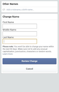 How To Change Name On Facebook App For iOS And Android