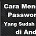 Cara mengetahui password wifi yang sudah terhubung tanpa root