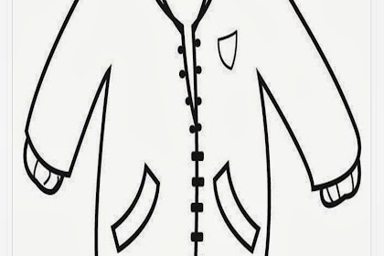 Mewarnai Gambar Baju Untuk Paud