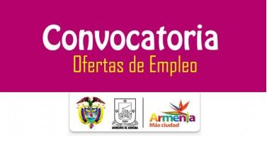 Alcald a de armenia abre convocatoria p blica para for Convocatoria de docentes 2016