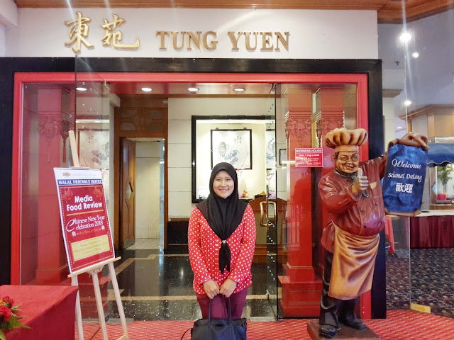 MAKAN-MAKAN CHINESE NEW YEAR 2018 (CNY) HALAL DI GRAND BLUEWAVE HOTEL SHAH ALAM