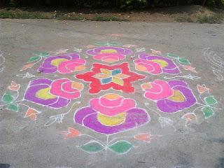 chukkalu design for sankranthi