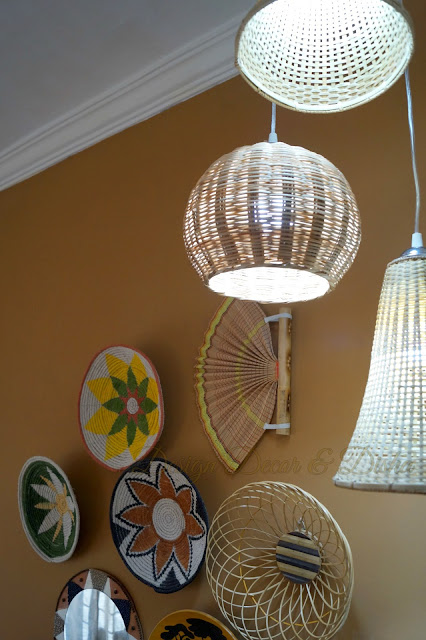 African Bohemian Wall Decor