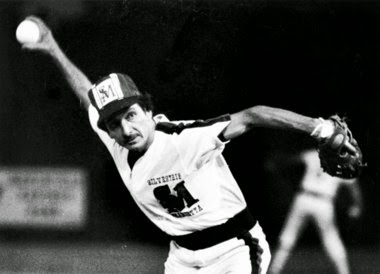 Ralph Miscione pitching for Silvestri's.