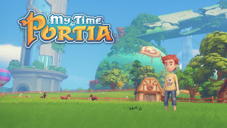 My Time at Portia Cover Wallpaper