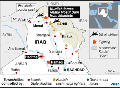Kurdish Operations Against Islamic State AFP, IndraStra