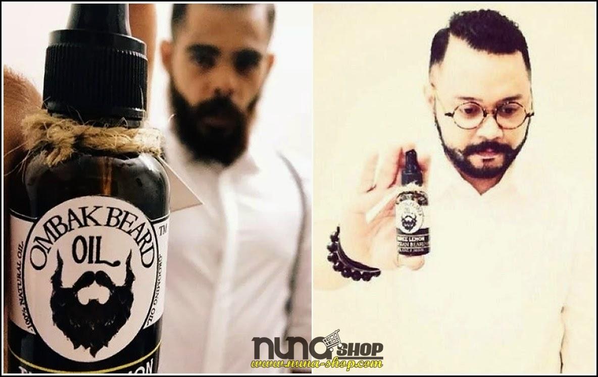 Ombak Beard Oil (minyak jambang dan janggut) - Ombak Beard Oils 30ml Made in Malaysia 30ml
