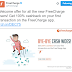 FreeCharge has a better cashback offer for its new users