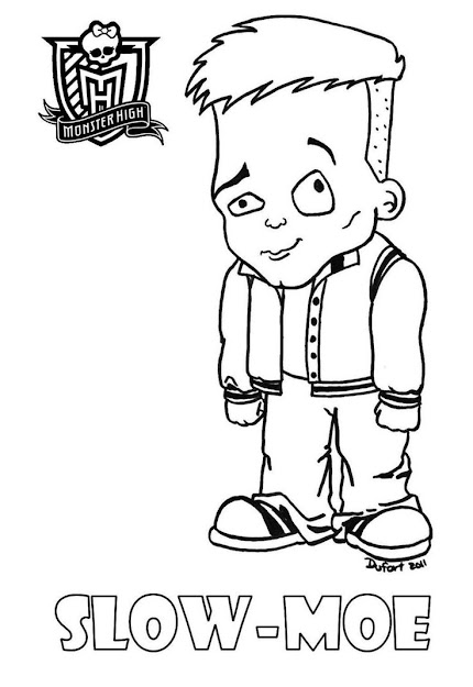 Baby Slowmoe Printable Coloring Sheet From Jadedragonne At Deviant Art