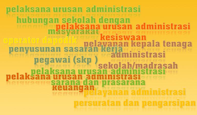 Download kumpulan administrasi sekolah / madrasah lengkap dengan panduan kerja tenaga administrasi sekolah / madrasah / tenaga tata usaha