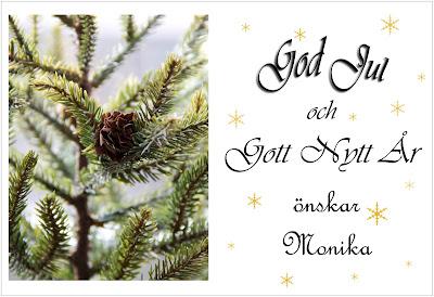 Minijugran på julkort för sms och mail