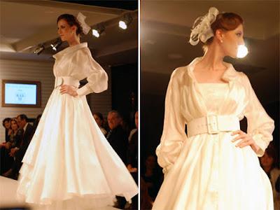 vestido noiva retro vintage diferente cinto lindo exotico
