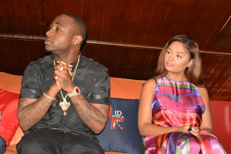 """Davido signs Ghanaian singer Lola Rae to his record label, calls her """"first lady"""""""