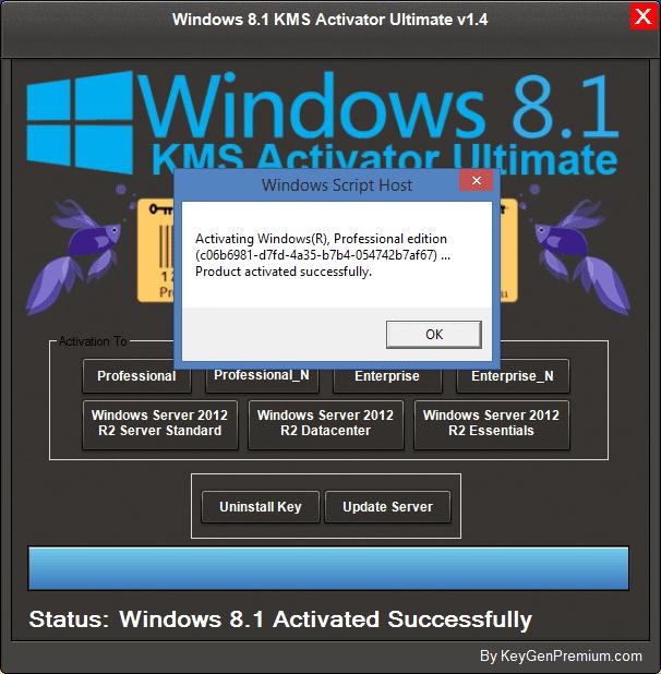 windows 8 permanent activation key