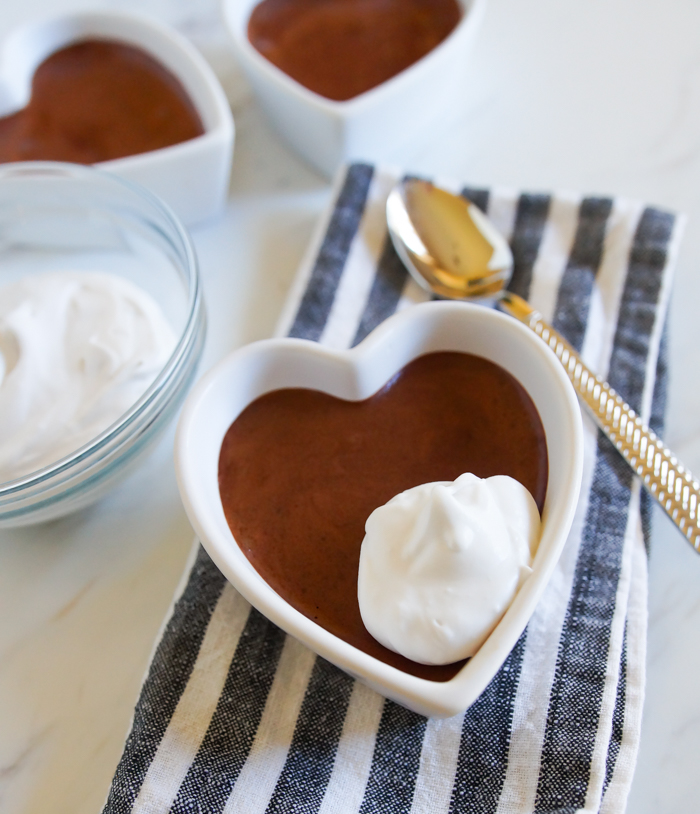 Abracadabra Coconut Chocolate Mousse, made with aquafaba and coconut cream! #dairyfree