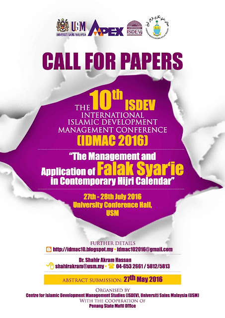 THE 10th IDMAC: CALL FOR PAPERS