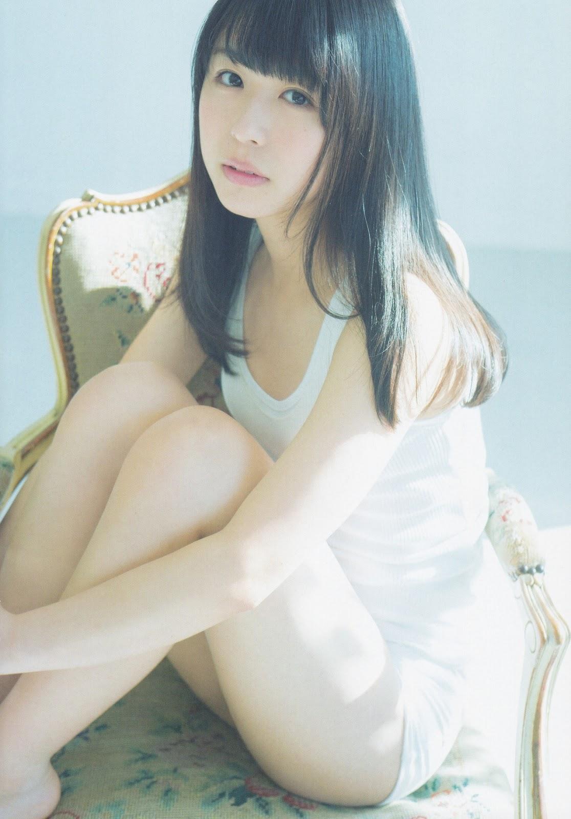 Nagahama Neru 長濱ねる Keyakizaka46, UTB+ 2017.05 Vol.37 (アップトゥボーイ プラス 2017年35号)