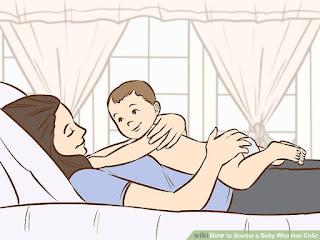 cullare con calma bambino