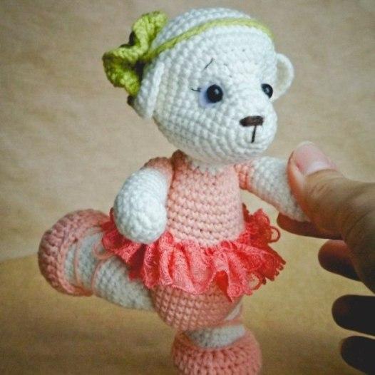 Free Amigurumi Patterns Teddy Ballet Dancer Crochet Pattern