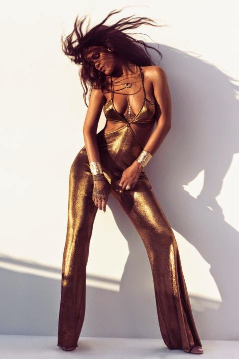 Rihanna Killer Fashion Harper's Bazaar editorial