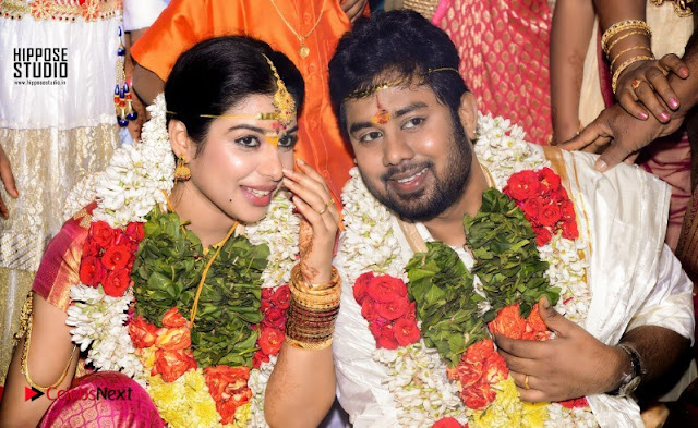 Actress Satna us Karthik Wedding Marriage Stills Pos  0001.jpg