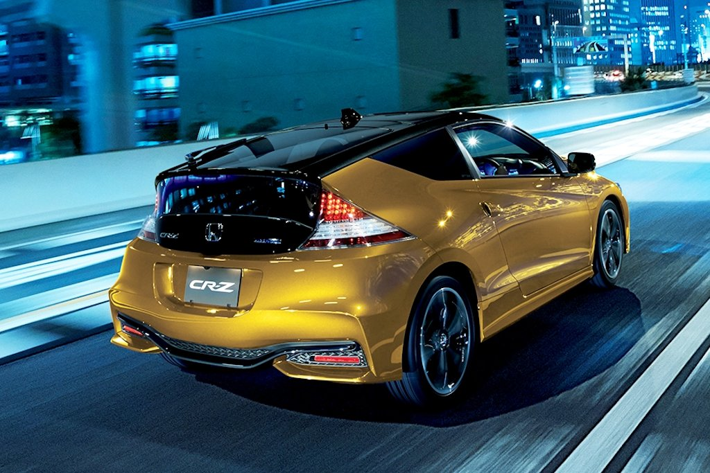 Honda Cars Philippines Makes 2016 CR-Z Sports Hybrid Available