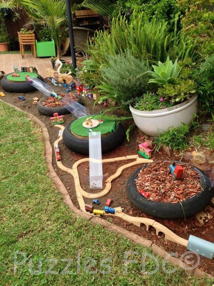 Juegos Para El Jardin. Mini Parque Parque Infantil Completo Juegos ...