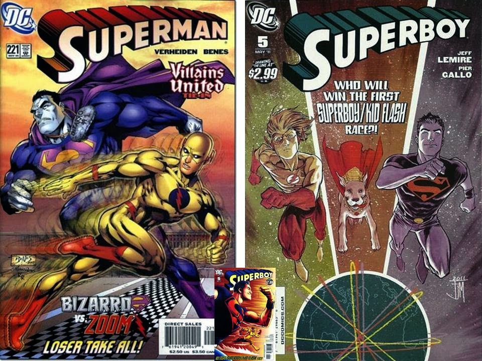 dave s comic heroes blog superman vs flash run for your life