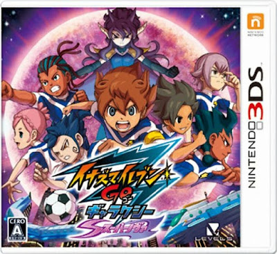 Inazuma Eleven Go Galaxy Supernova Decrypted 3DS JAP