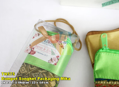 Dompet Songket Packaging Mika