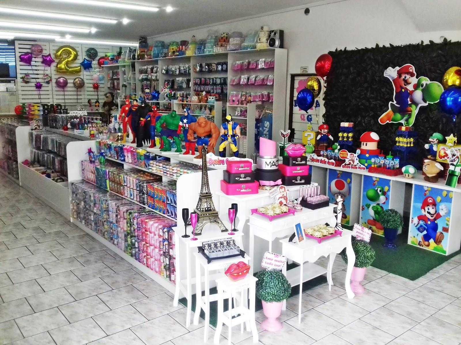 2bc54138f585 Loja de Artigos de Festas Decoração e Lembrancinhas Zona Norte SP. Jd.  Brasil