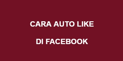 Tutorial Auto Like Facebook Di Termux