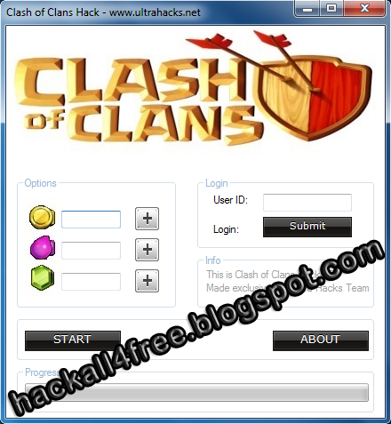 clash of clans hack by ultrahacks